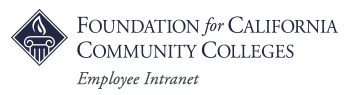 Foundation for California Community Colleges Intranet